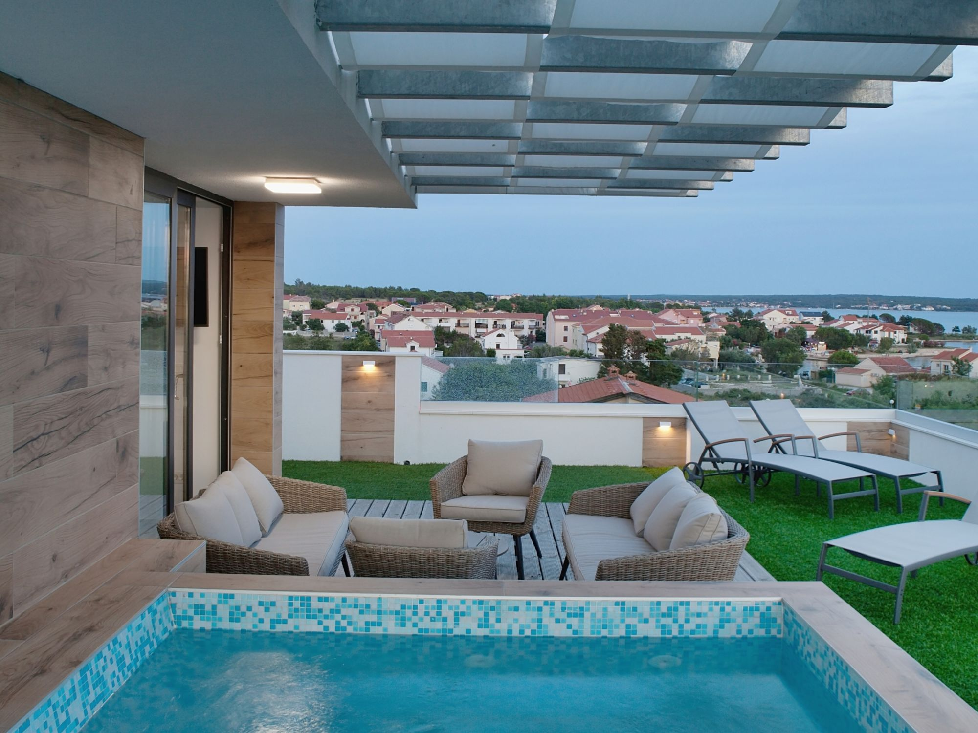 Moderné apartmány dovolenka vChorvátsku