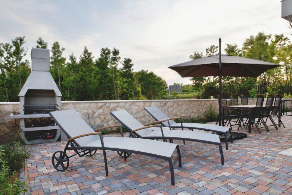 luxusné ubytovanie vapartmánoch pri Zadare